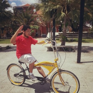 Marido adorou esta bike estilosa.