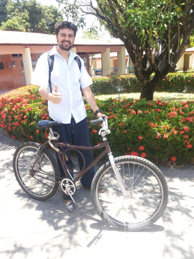 Marcelo Rocha De Bike na Cidade by Sheryda Lopes