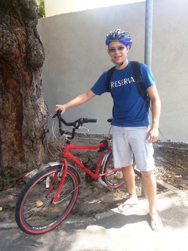 Vi de bike Yuri Vitoriano Blog de Bike na Cidade by Sheryda Lopes