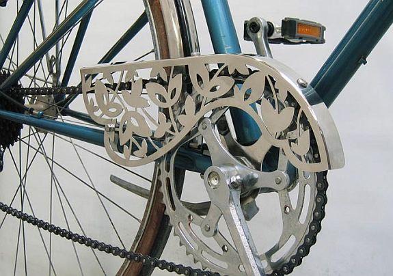 protetor de corrente De Bike na Cidade Sheryda Lopes