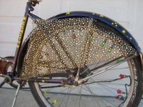 Protetor de saia De Bike na Cidade Sheryda Lopes