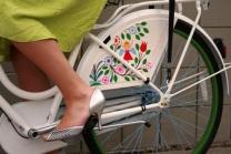 Protetor de saia Sheryda Lopes De Bike na Cidade 3
