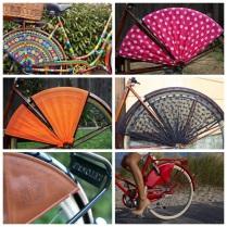 Protetor de saia Sheryda Lopes De Bike na Cidade 4