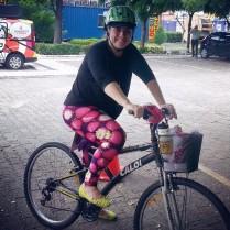 Daniella de Lavour Leitores que pedalam De Bike na Cidade Sheryda Lopes (1)
