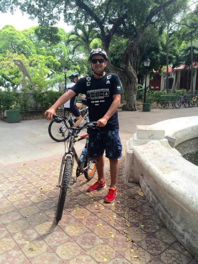 Leitores que pedalam Maykel Bruno De Bike na Cidade Sheryda Lopes 2