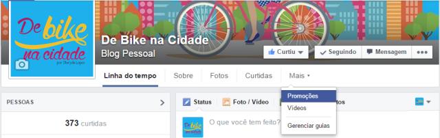 Aba Promoções Blog De Bike na Cidade Sheryda Lopes