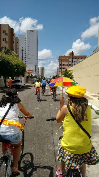 Fonte da foto: Ciclovida - Associação dos Ciclistas Urbanos de Fortaleza