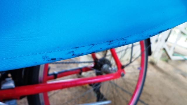 Look Cycle ChicBlusa transparente saia azul cinto pulseira graxa De Bike na Cidade Sheryda Lopes Li (6)