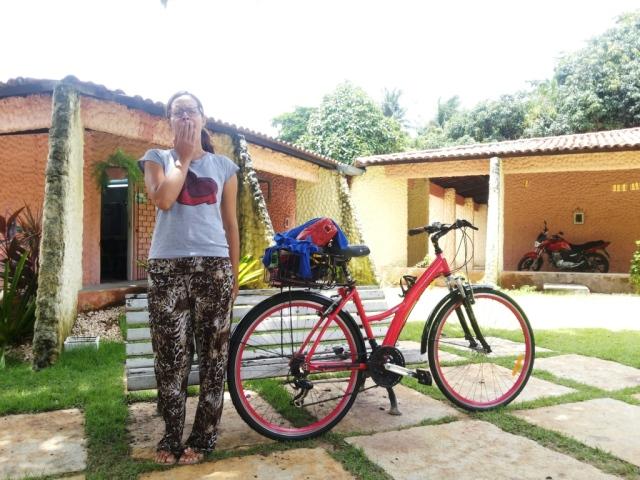 calça estampada blusa minnie De Bike na Cidade Sheryda Lopes (2)