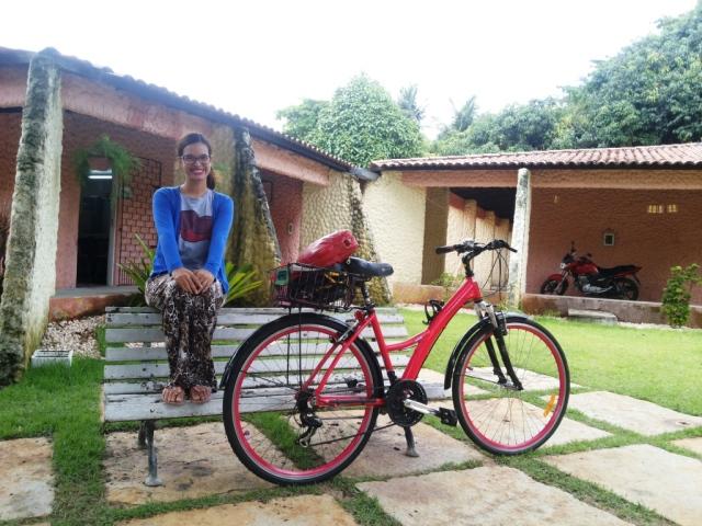 calça estampada blusa minnie De Bike na Cidade Sheryda Lopes (3)