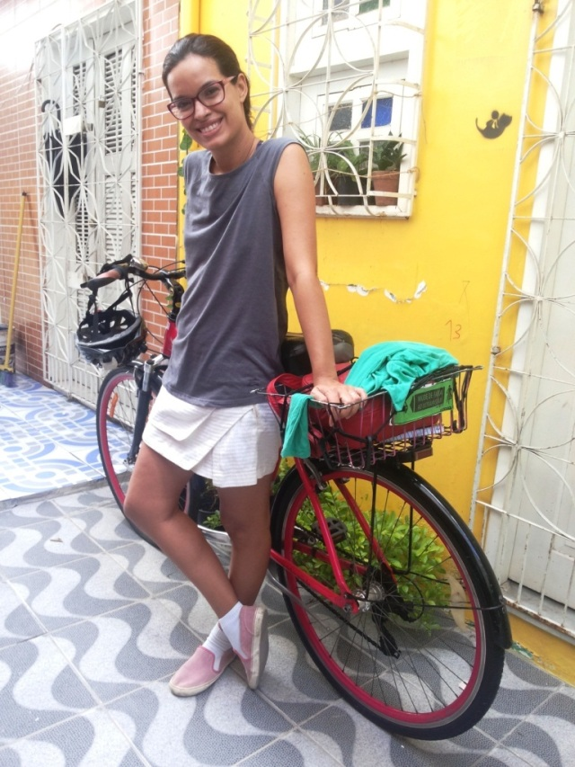 De Bike na Cidade_ Look Cyclechic_ short saia by francisco Barbosa  (3)