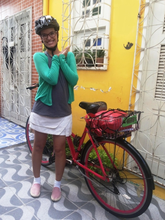 De Bike na Cidade_ Look Cyclechic_ short saia by francisco Barbosa  (4)
