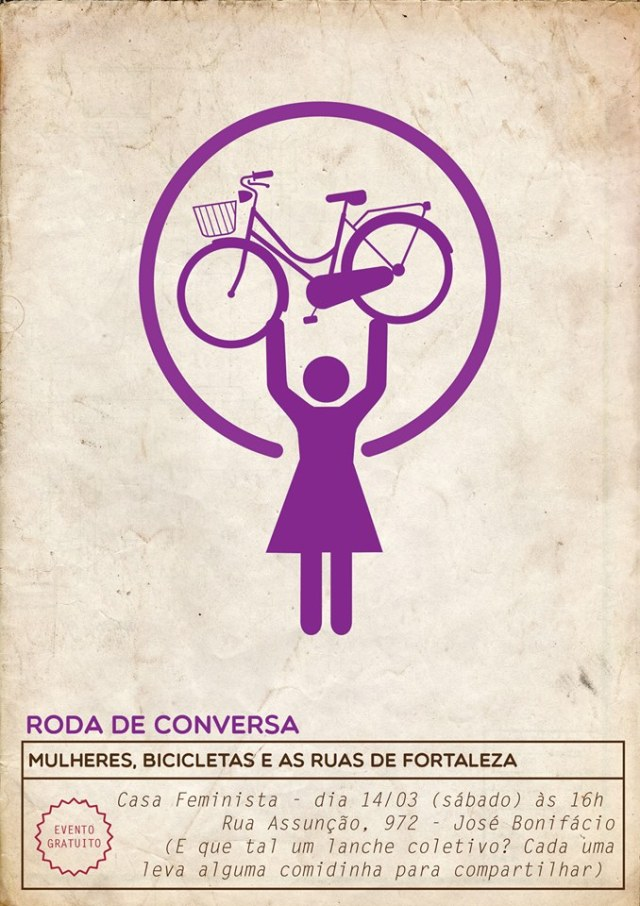 Evento Roda de Conversa De Bike na Cidade by Bia