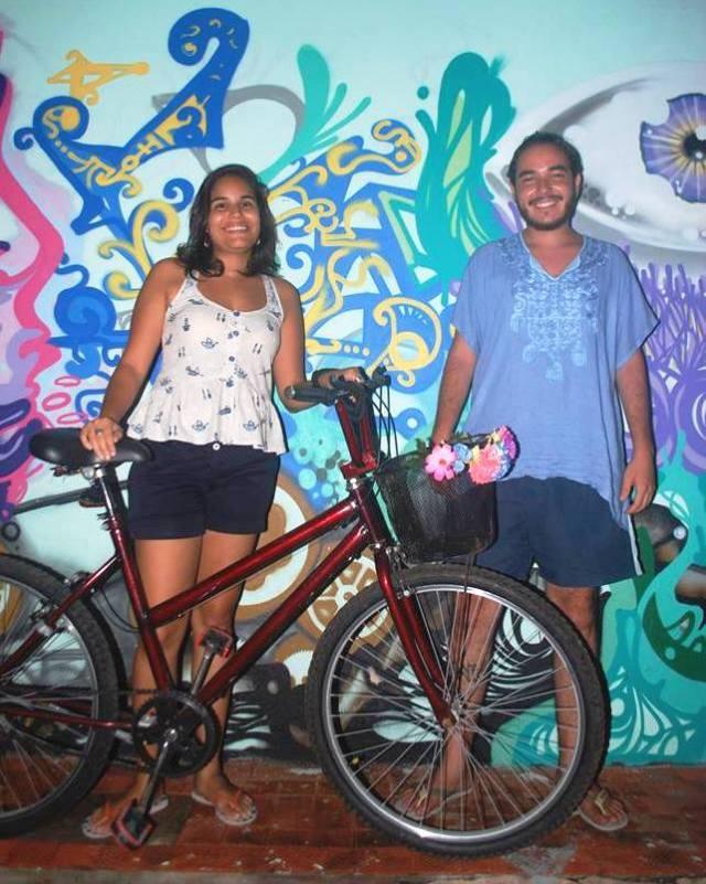 Marla Monise De Bike na Cidade Jack de Carvalho 2