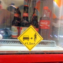 Bebida gelada enquanto espera o atendimento