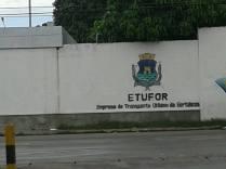 "Antes estava escrito ""Etufor assassina"". Foto do leitor Eraldo Sá"