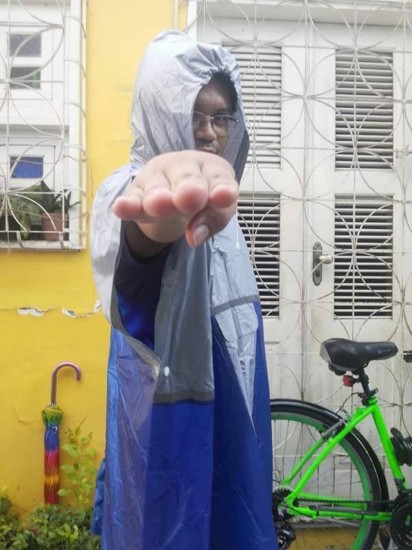 Se alguém lhe disser que não dá para pedalar na chuva, é só responder: aí dentu! #cearensês