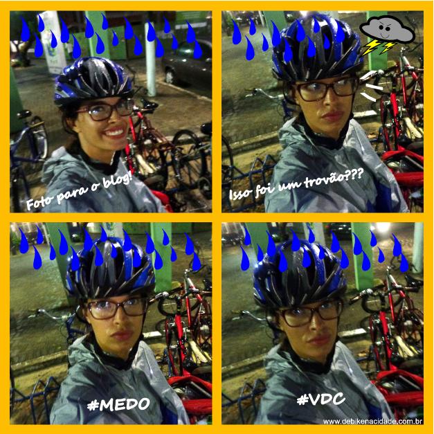 Capa de chuva poncho pedalar na chuva Sheryda Lopes blog Se Bike na Cidade