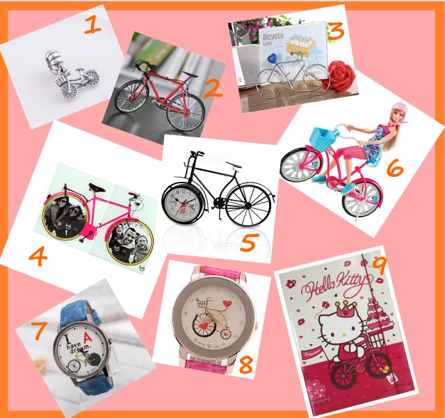 Presentes temáticos de bicicleta Desejos De Bike na Cidade