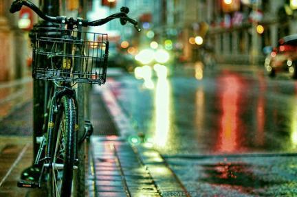 chuva bicicleta noite night rain bike De Bike na CIdade