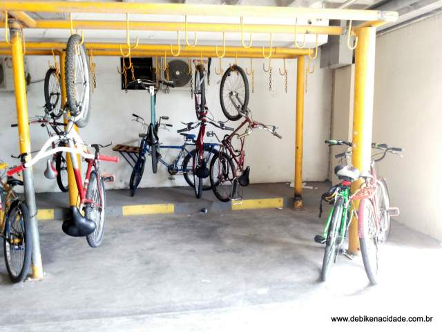 Resenha bicicletário north shopping bezerra Fortaleza blog de bike na cidade by Sheryda Lopes (2)