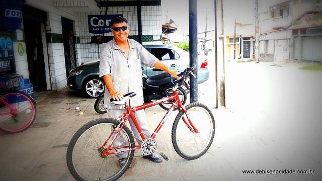 Vi de Bike Luiz Carlos Lima blog de bike na cidade Fortaleza Sheryda Lopes