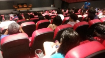 Cinema lotado