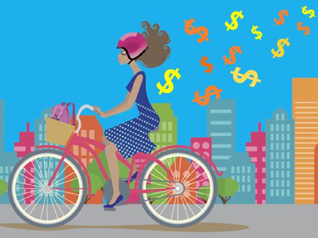 Publicidade no De Bike na Cidade