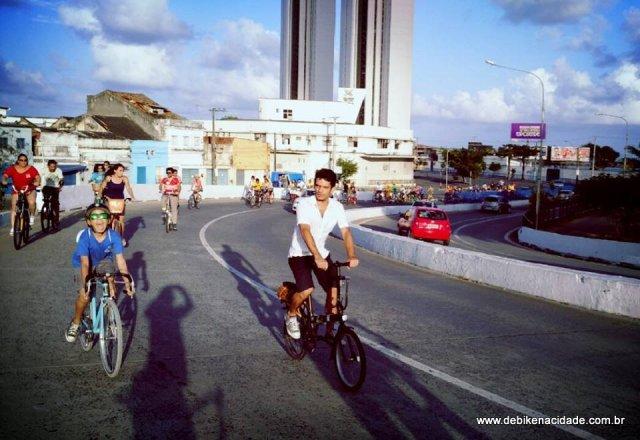 De Bike na Cidade FNEBICI 2015 Recife Bicicleta Sheryda Lopes (9)