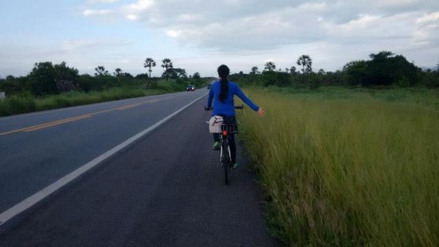 Quero viajar 2016 Phelipe Rabay de Bike na Cidade