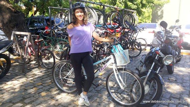 Vi de Bike Fatima Muniz blog De Bike na Cidade by Sheryda Lopes